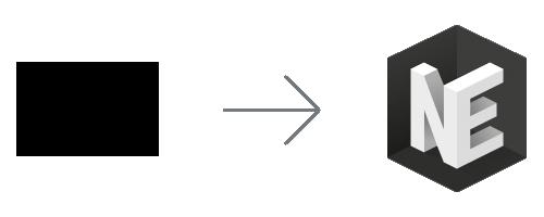 Modernisering av Nationalencyklopedins logotyp (Ny och gammal)
