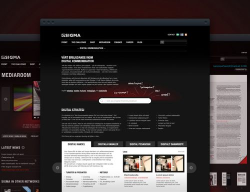 Sigma — Branding, Website & Event