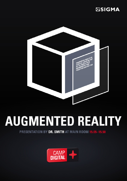 Sigma AB Camp Digital Poster (Augmented Reality)