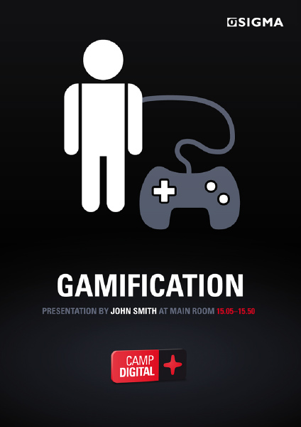 Sigma AB Camp Digital Poster (Gamification)