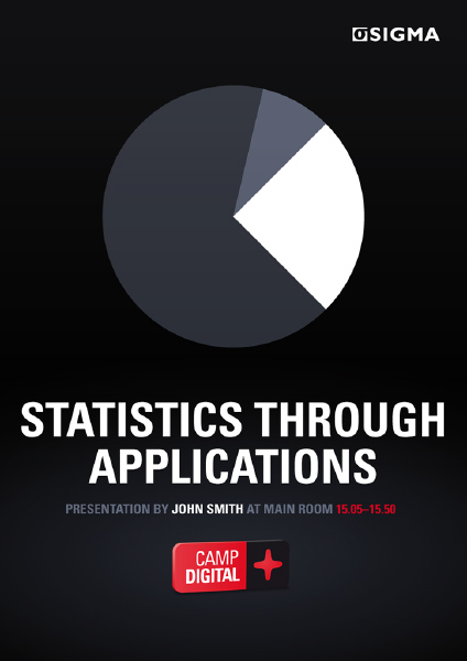 Sigma AB Camp Digital Poster (Statistics through Applications)