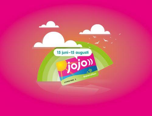 Skånetrafiken Jojo — Launch, Branding & Campaigns